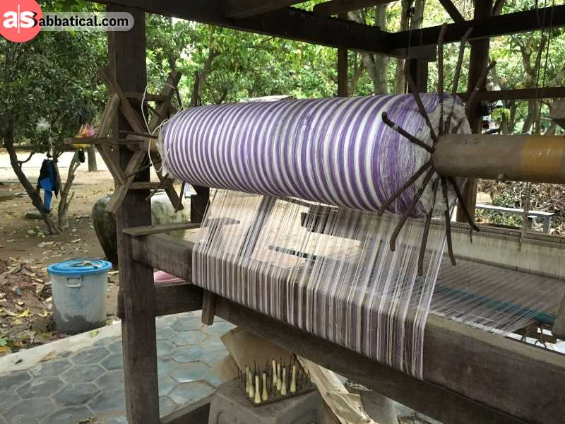 Silk Island, or Koh Dach, is a traditional silk weaving village in close proximity to Phnom Penh.