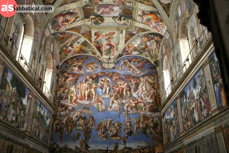 Sistine Chapel was designed by the pioneers of Renaissance architecture and art.