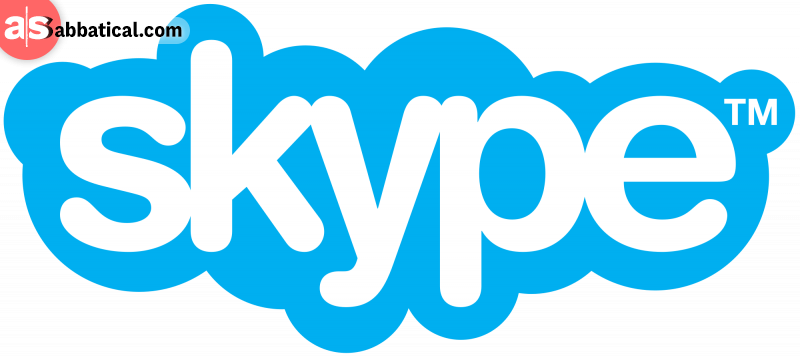 Skype is a go-to software to stay in touch with your clients and an essential part of the remote office.