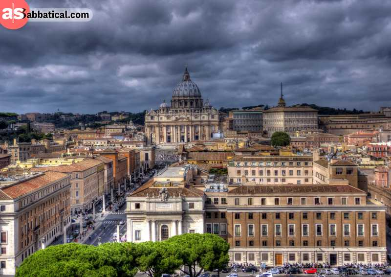 The Vatican is the smallest country in Europe and you can only visit it on foot.