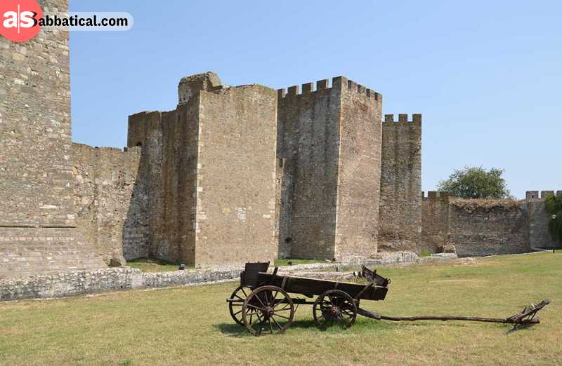 Smederevo Fortress will transport you back a few centuries.