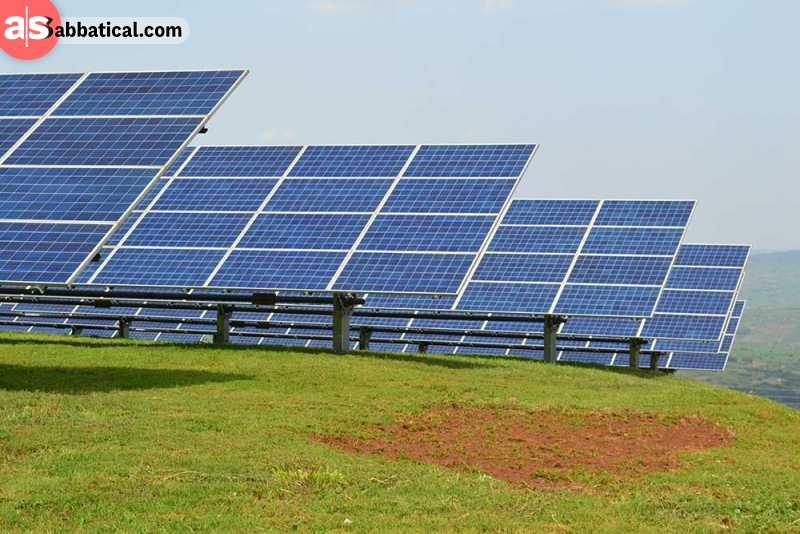 Africa has started implementing renewable energy sources for a brighter future.