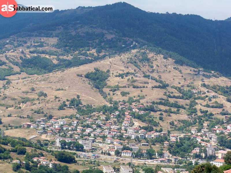 Beautiful mountainous Southern Bulgaria.