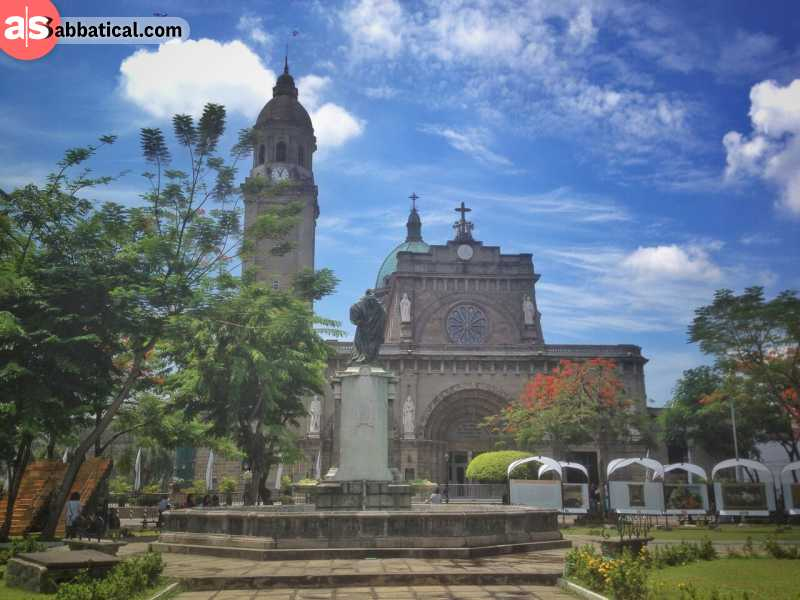 Spanish colonial influence in the Philippines can be seen in religion, architecture and other segments.