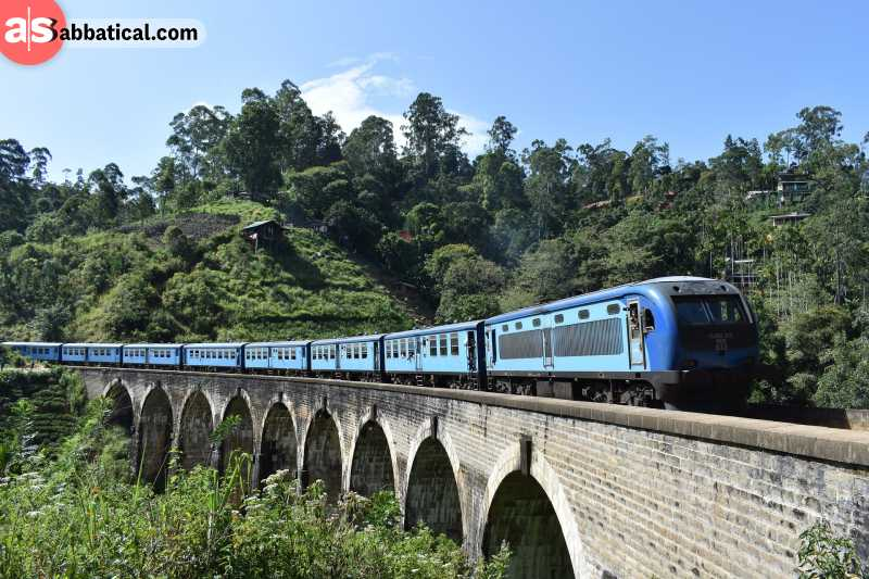 A train ride in Sri Lanka is a true trip to the past.