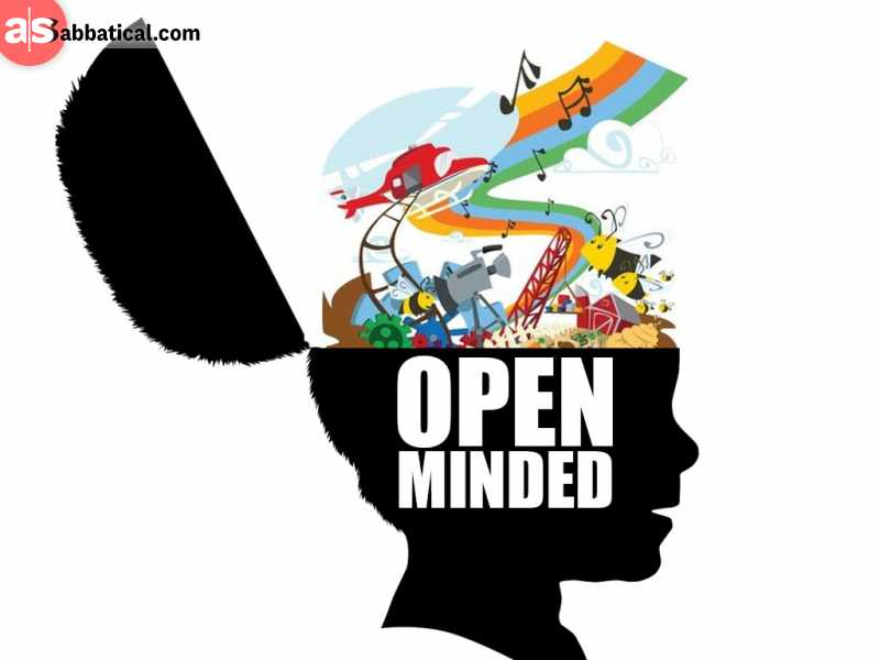Stay open-minded, as you're going to get more and more opportunities!