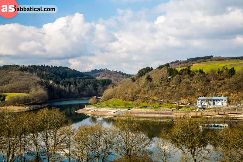 Sûre River is a perfect showcase of the Luxembourg landscape; also, great for kayaking!