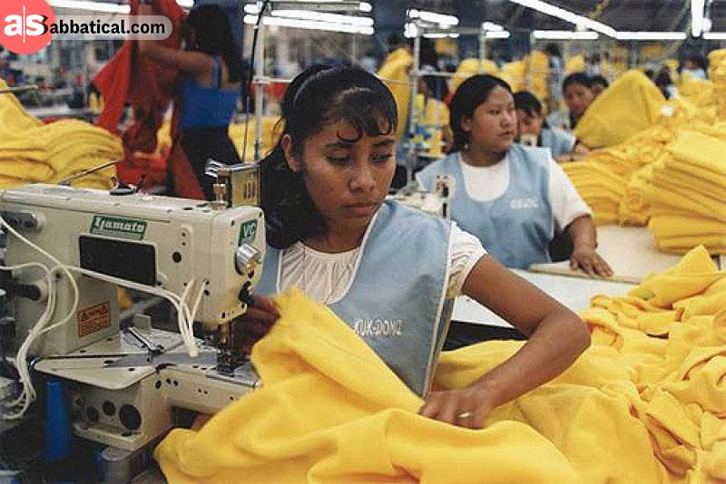 Sweatshop workers often work in socially unacceptable conditions, and these are the jobs that make a difference.