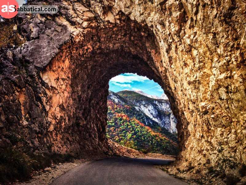 Tara canyon is an amazing gateway to stunning nature