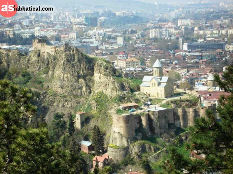 Visit the Old Town in Tbilisi for some epic sightseeing!