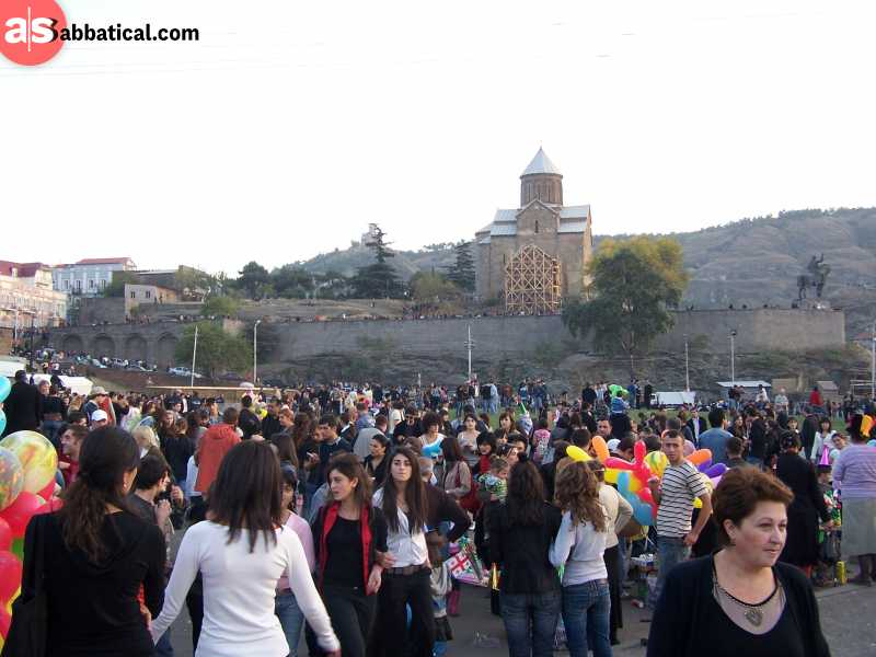 Tbilisoba is a traditional festival that celebrates the diversity and history of Tbilisi.