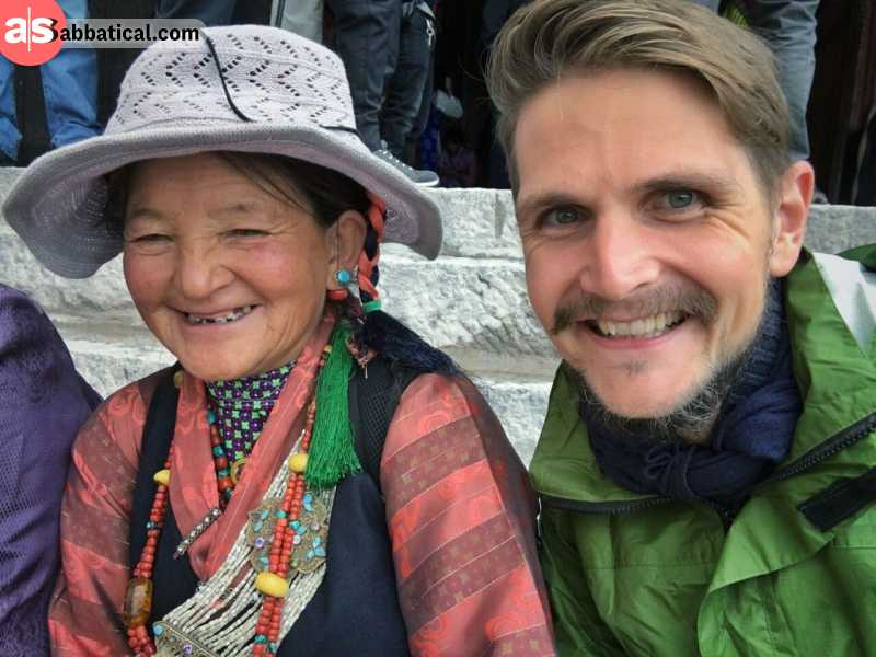 People of Tibet are very hospitable, and their smiles are priceless.