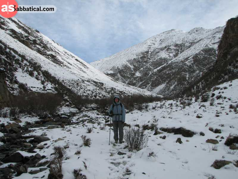 Tibet is home to many towering mountains and valleys and is an awesome place for trekking.