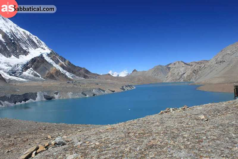 The Tilicho lake is the highest lake in the world.