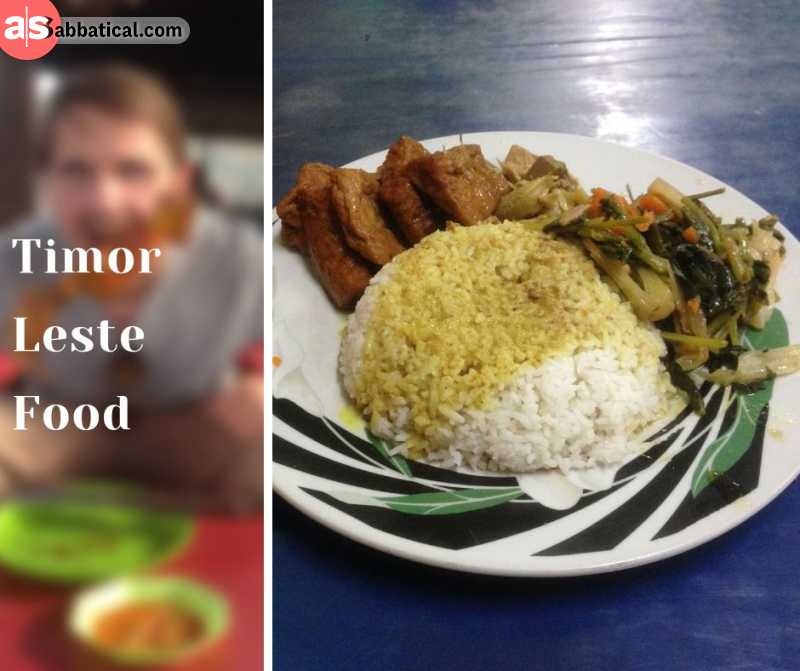 Timor Leste offers a variety of interesting food to try!