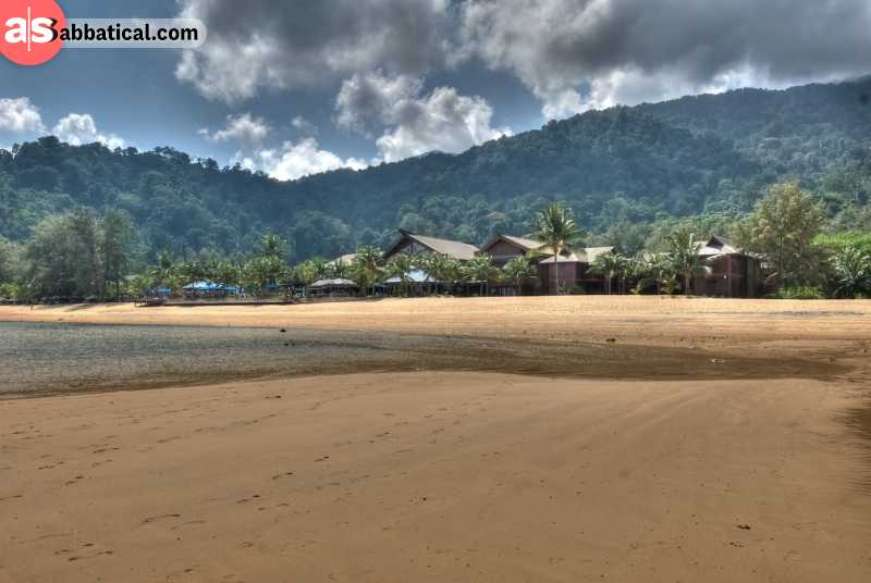 Take a ferry to Tioman Island and enjoy the pure nature of this beautiful island.