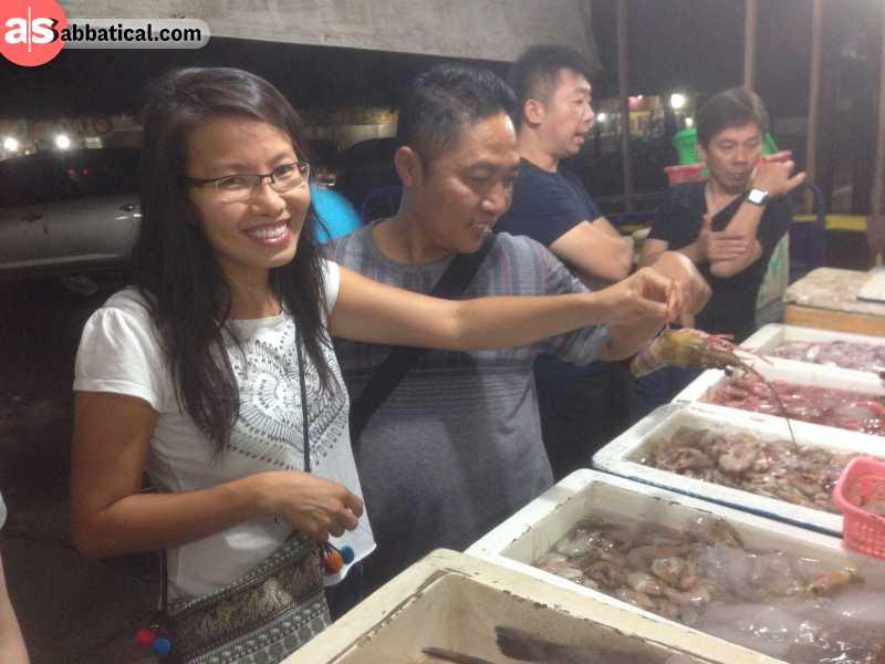 A diverse Indonesian cuisine