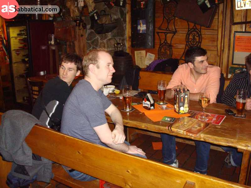 Pub culture has established itself as one of the most prominent traditions in Slovakia.