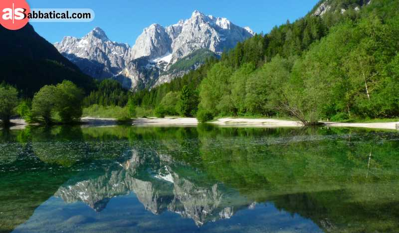 Triglav National Park is a hikers' paradise situated in the Slovenian Alps.