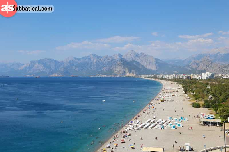 Turkey during the summer is perfect for relaxing at the beach, but there is so much more to discover!