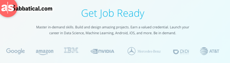 Completing a Nanodegree program can give you amazing skillset that can land you a job in renowned companies.