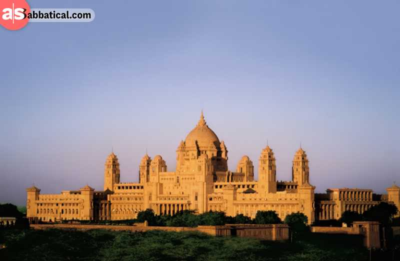 The magnificent architectural wonder that is Umaid Bhawan Palace is divided into three sections: the royal residence, a luxury hotel, and a museum.