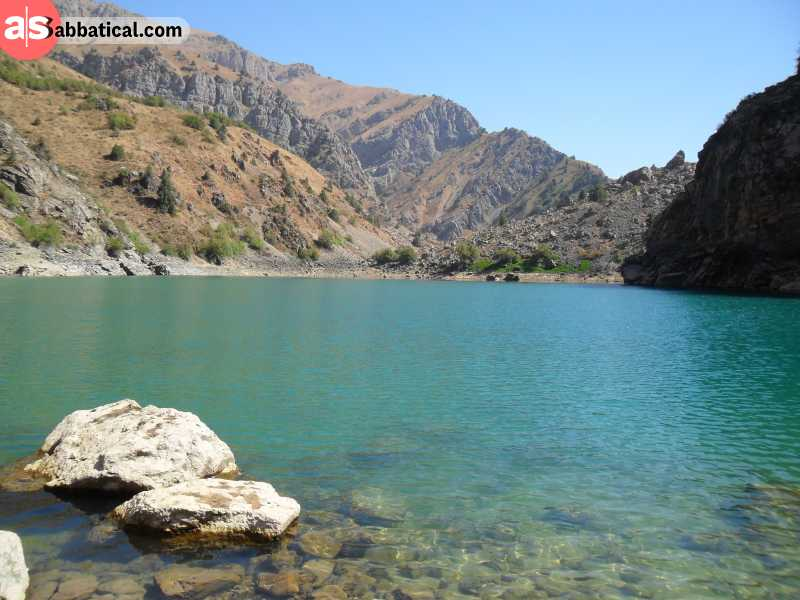 Find Urungach Lakes in Ugam Chatkal National Park and marvel at the jade colors of their water.