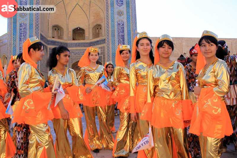 Uzbekistan has many festivals that can immerse you in their rich traditions.