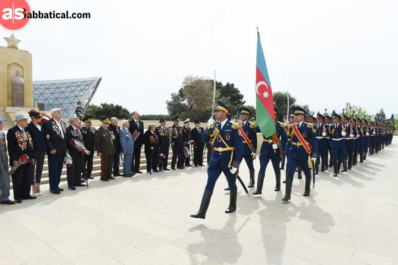 Victory Day is still celebrated in Azerbaijan.