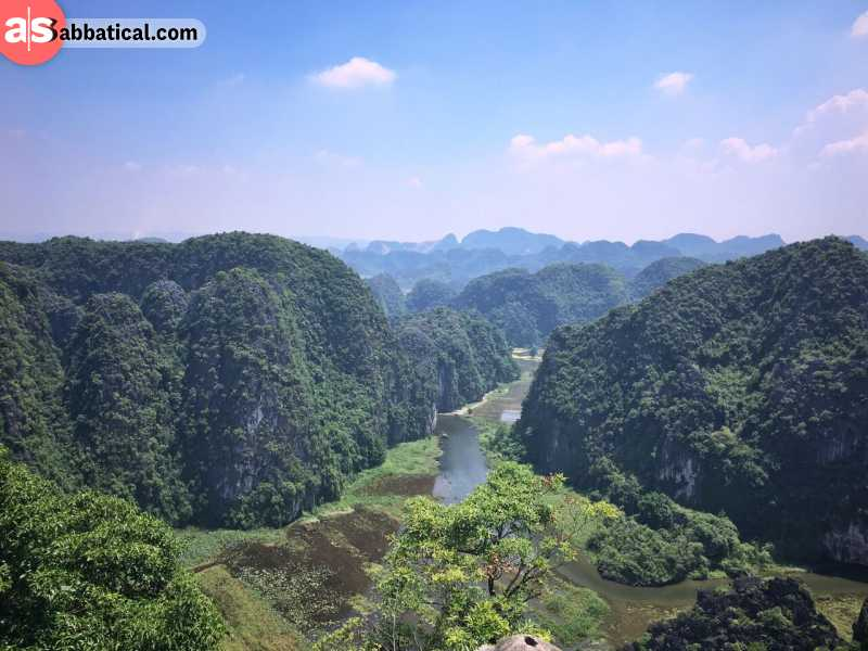 The nature of Vietnam is simply breathtaking.