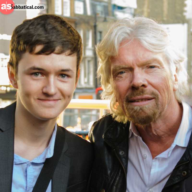 With Virgin StartUp, Richard aims to finance young and bright entrepreneur minds.