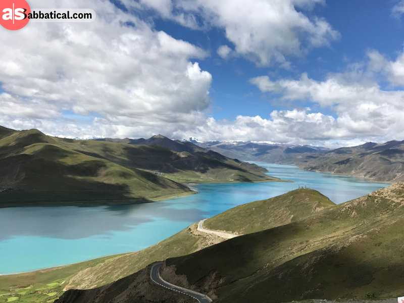 Where is Tibet, you will visit many magnificent locations.