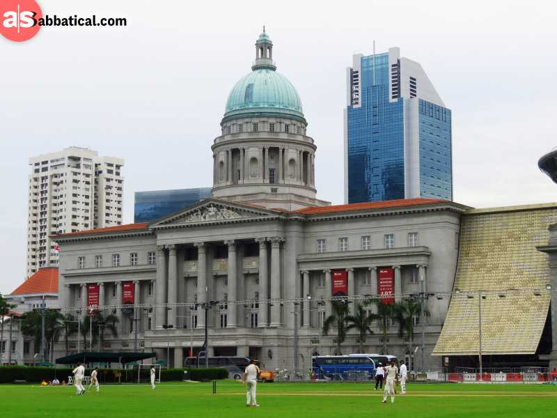 National Gallery Singapore is a great way to experience the visual arts of the Southeast Asia.