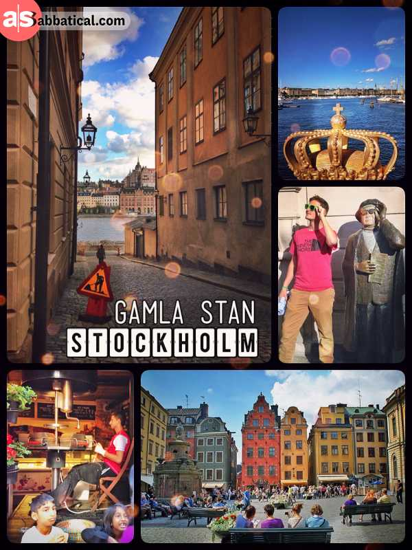 Gamla Stan - oldest developed part of the city of Stockholm and home of the Royal Palace