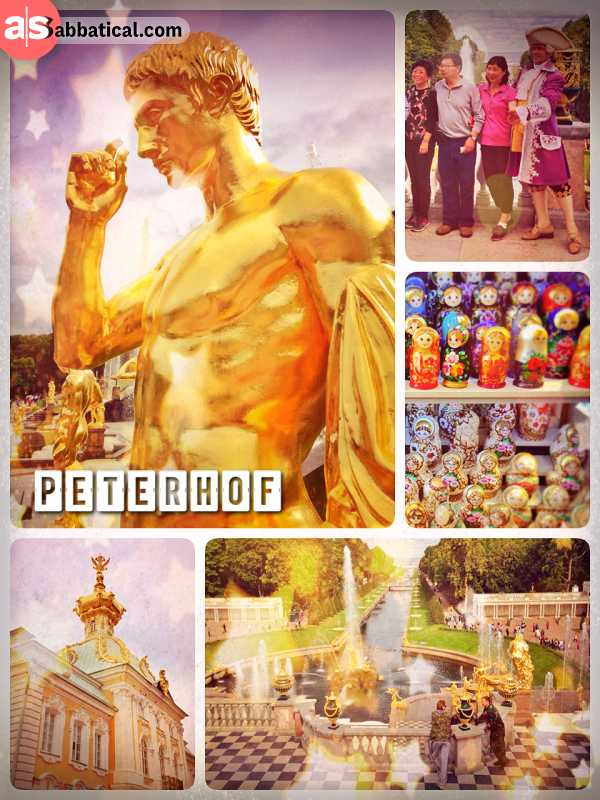 Peterhof - The Russian Versailles, a palace built of gold and marble