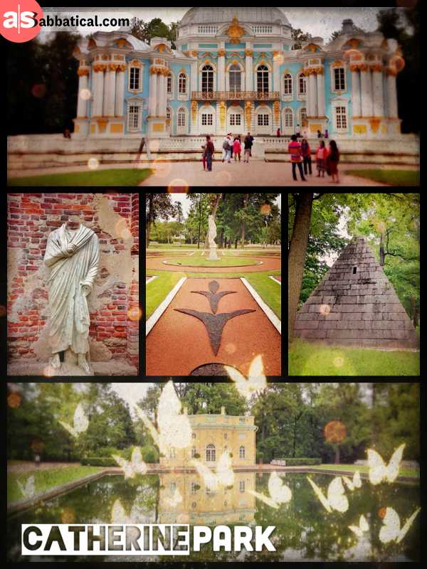 Catherine Park - much more than just an ordinary palace garden