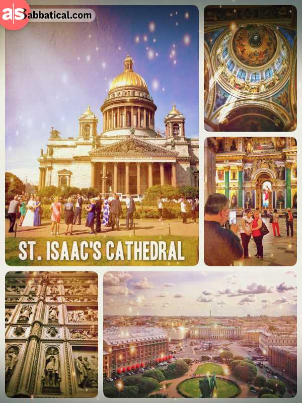 St. Isaac's Cathedral - amazing building (museum) in the heart of St. Petersburg