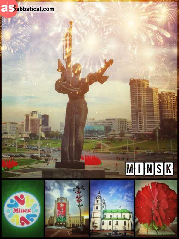 Minsk - the isolated capital that treated me well from the very first moment