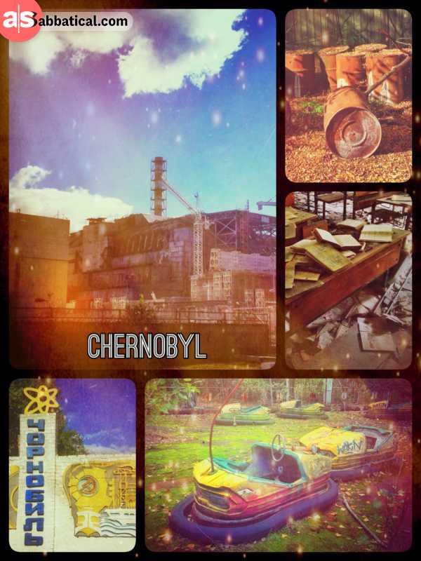 Chernobyl - from the doomed Reaktor #4 to the abandoned city of Pripyat