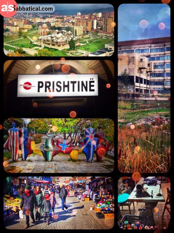 Prishtina - dirty, broken capital in the heart of the Balkan