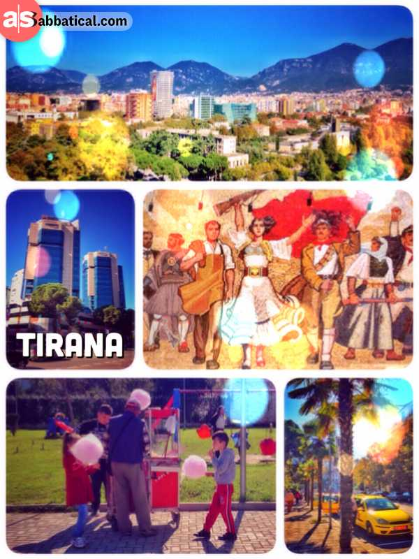 Tirana - subtropic capital with an adorable flair