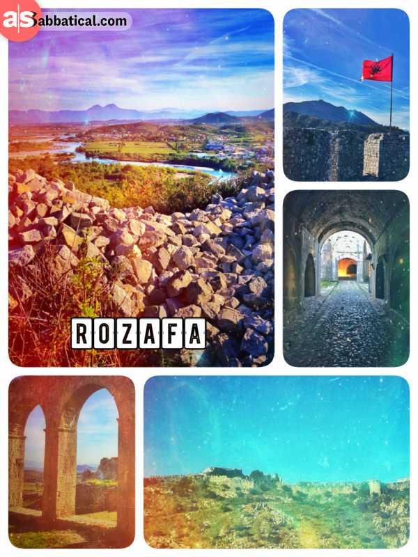 Rozafa - defending the northern boundaries