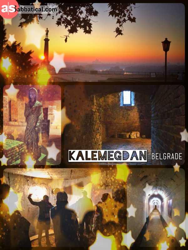 Kalemegdan Belgrade - unearthing all the buried secrets