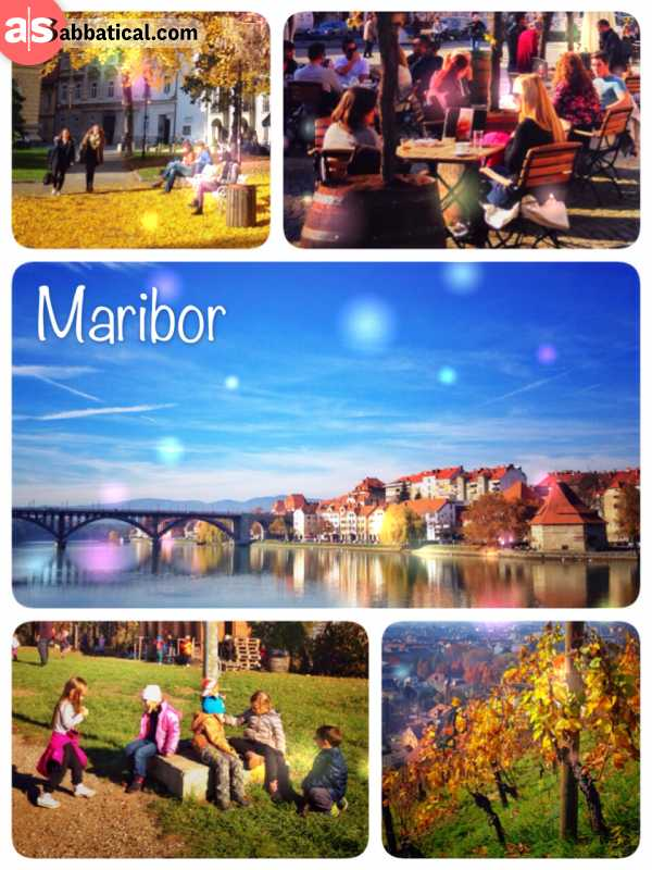 Maribor - somewhere between the sea and mountains