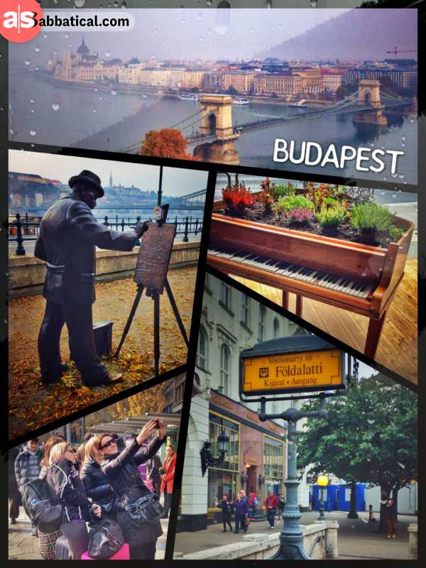 Budapest - a fusion of two utterly different cities