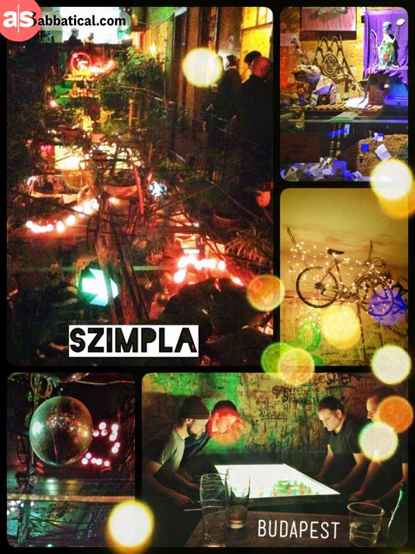 Szimpla - the art of making a bar out of ruins