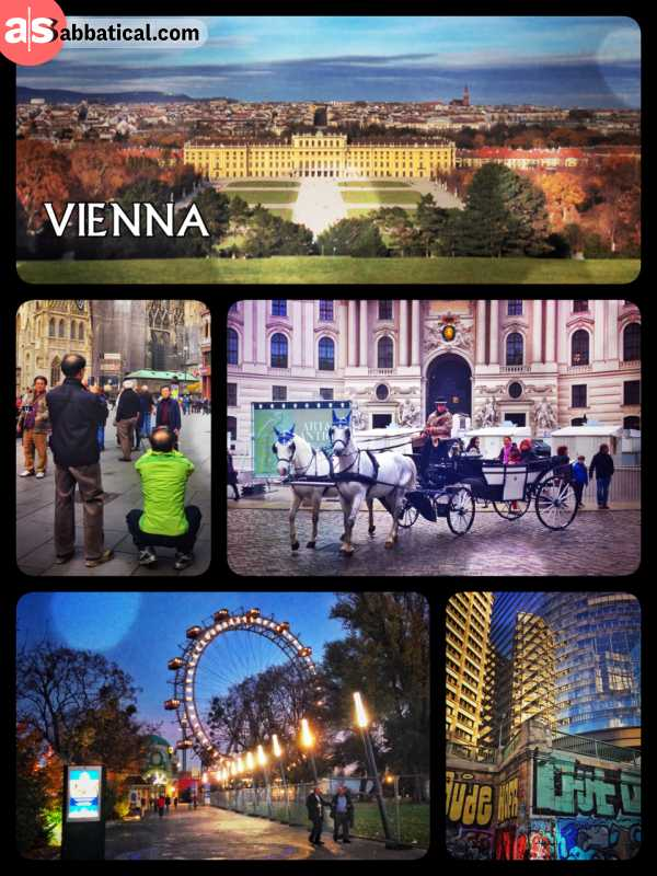 Vienna - still a glamorous and prestigious capital