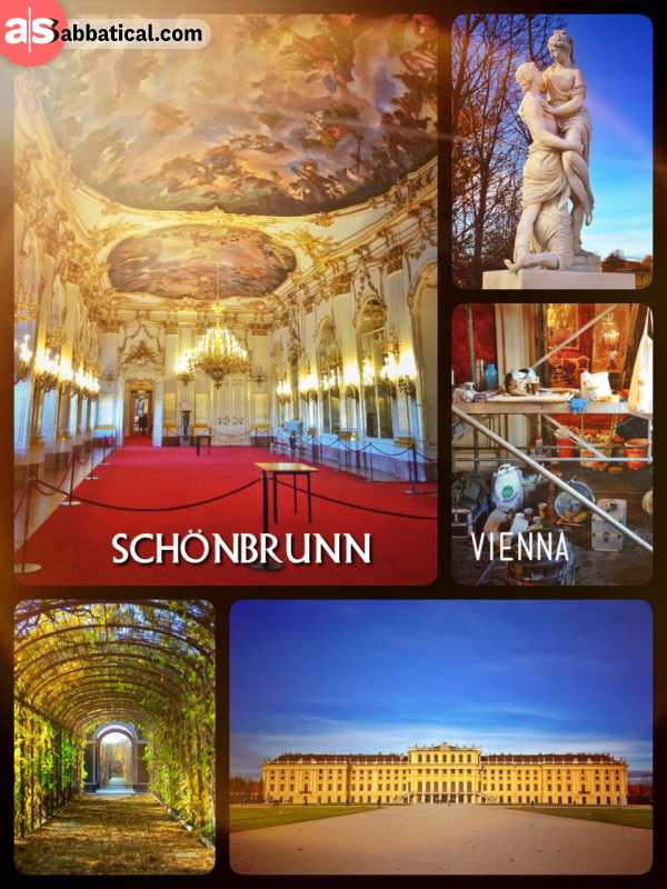 Schönbrunn Castle - the epicentre of the Habsburg Empire