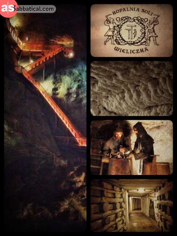 Wieliczka Salt Mine - the salty underground labyrinth