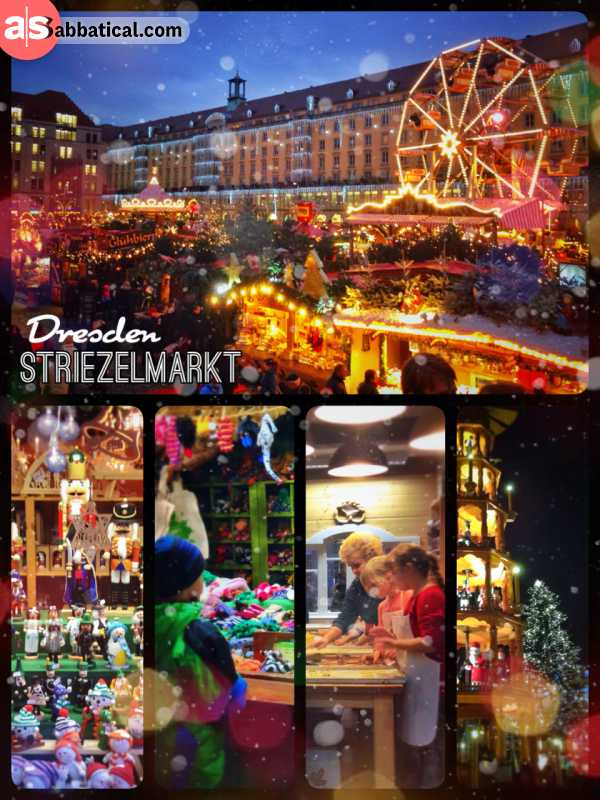 Striezelmarkt Dresden - the hole city is in a christmas fever